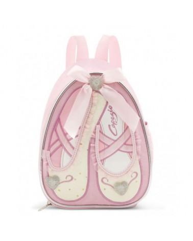 Bolsa Ballet Rosa y Purpurina Infantil