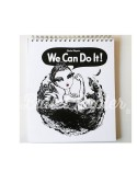Libreta Ballet Papier We Can Do It