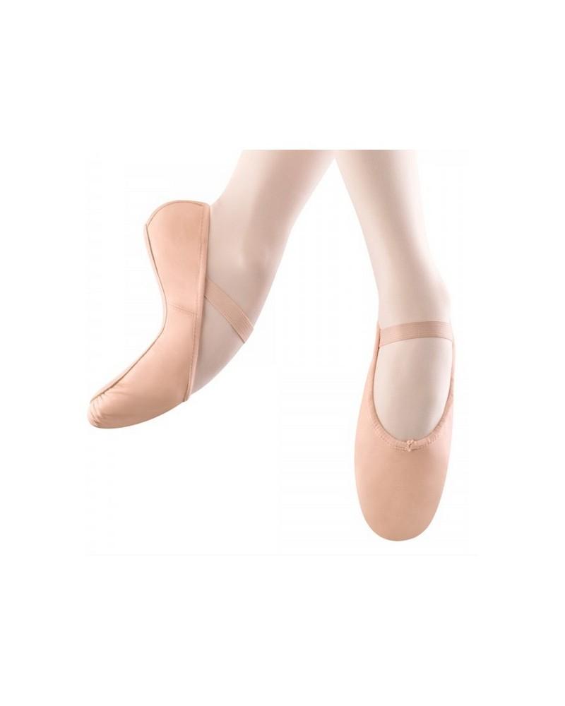 Zapatilla de Ballet Suela Entera y Cuero Arise