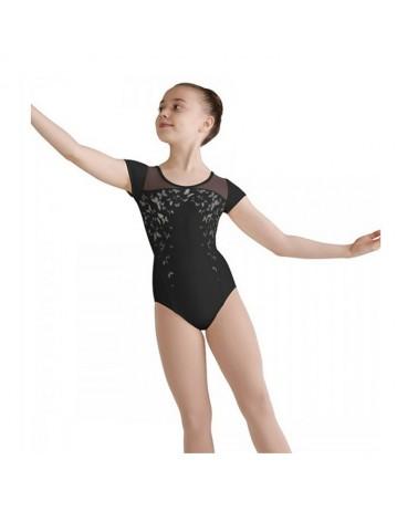 Maillot Ballet Bloch Infantil Mangas de Tul