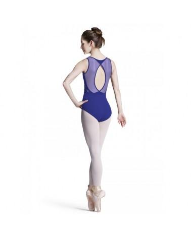 Maillot Ballet Bloch Azul L8155