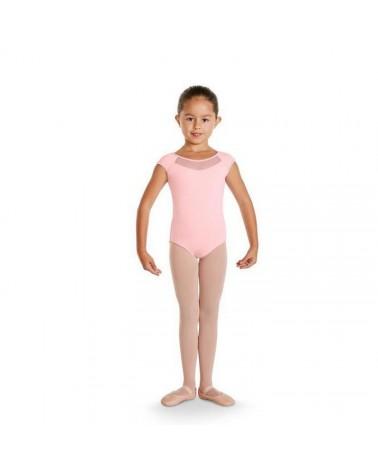 Maillot infantil Lazo Espalda rosa
