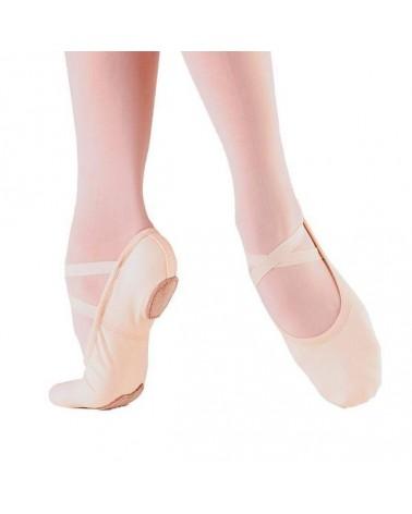 Media Punta de Ballet Rosa de Suela Partida