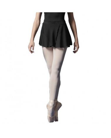 Falda Ballet Negra con Terciopelo Bloch