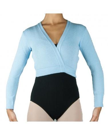 Chaqueta Infantil de Ballet Punto Azul