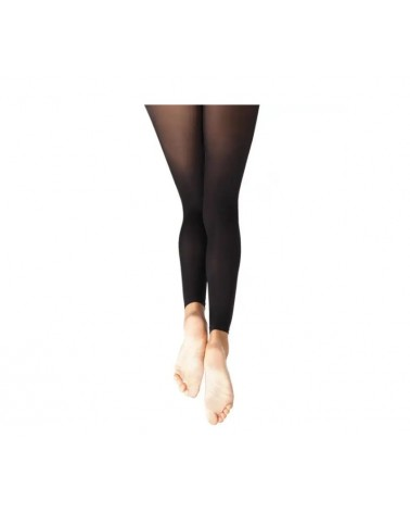 Medias de Ballet Negras Sin Pié