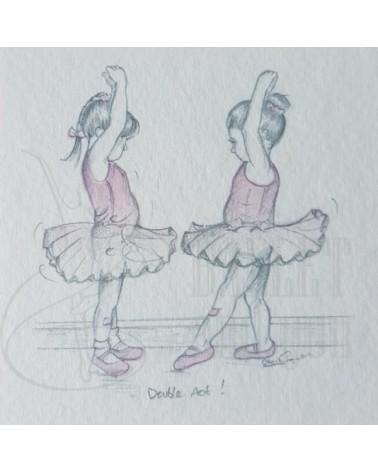 Tarjetas de invitacion ballet