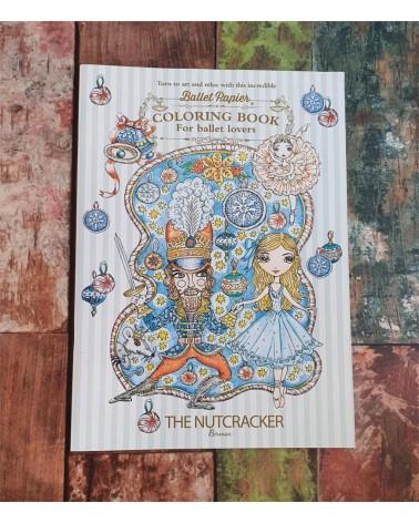 Libro para colorear Ballet Cascanueces