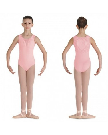 Malla de Ballet con Corazón Bloch Rosa