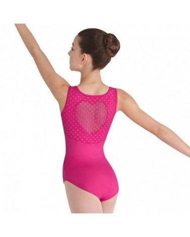 Malla de Ballet fusia con Corazón Bloch Miame