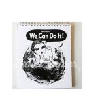 Libreta Ballet Papier We Can Do It