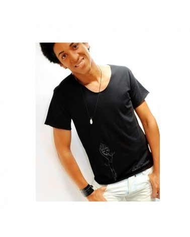 Camiseta Negra del Corsario