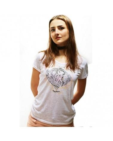 Camiseta Paulova Bailarinas Ballet Papier