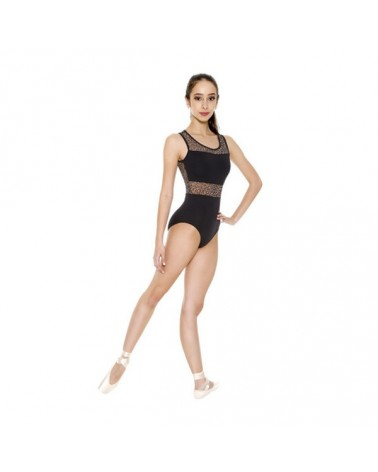 Malla Negra con Transparencia So Danca
