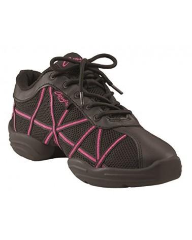 Sneaker de Danza Negra Capezio Web