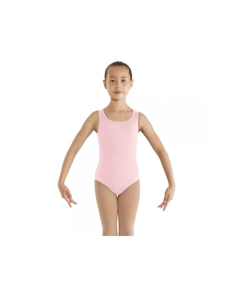 Malla de Ballet Rosa Infantil Bloch Leo