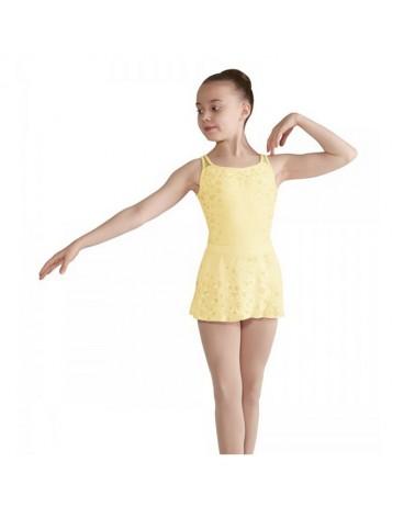 Maillot infantil Bloch Flores Amarillas