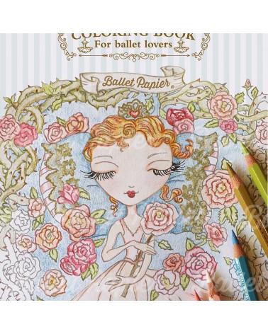 Libro para colorear La Bella Durmiente