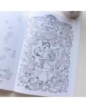 Libro de colorear laminas de ballet