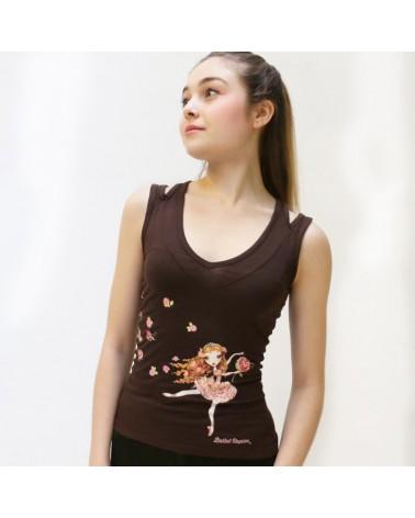 Camiseta Rose Adagio Ballet Papier