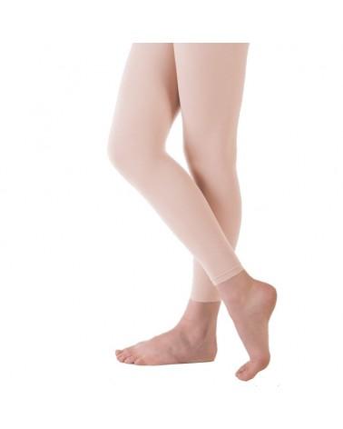 Medias de Ballet Rosa Sin Pié