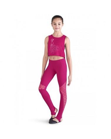 Camiseta Bailarina Rosa Ballet