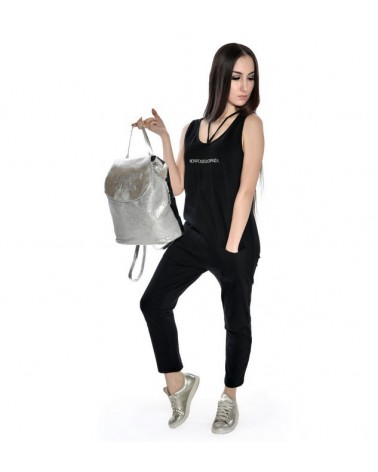 Mono Jumpsuit In Felpa