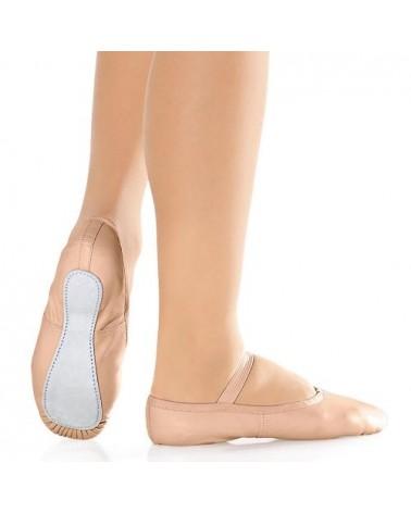 Zapatillas Ballet en Piel Rosa So Dança