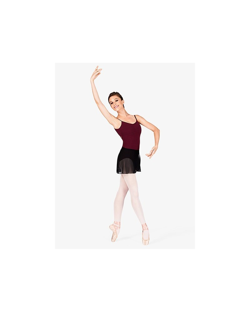 Maillot Ballet Algodón Berenjena Capezio