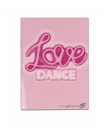 libreta love danza