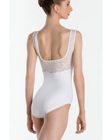Maillot Espalda escotada Blanco Wear Moi