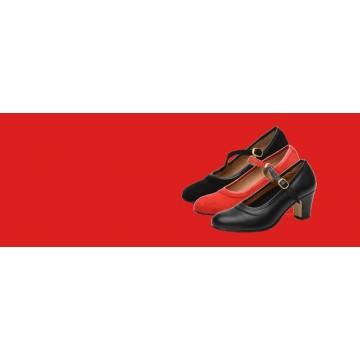 Zapatos de flamenco en Asturias para diferentes niveles y de sevillana