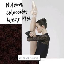 Novedades Wear Moi! ¿eres más de negros o de granates? ¿Gasa o figuras geométricas?  #wearmoi #balletandyou #balletdancer #tiendadeballet #tiendadeballetonline